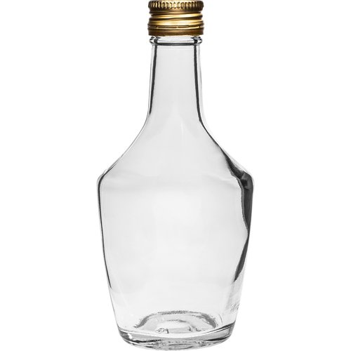250ml glass bottle with screw cap, 6 pcs. - 2