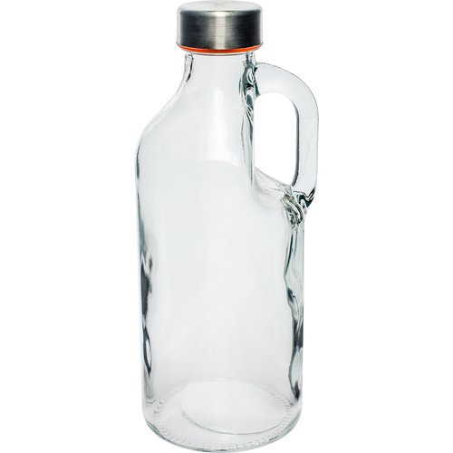 Bottle with cap and hand 1 L  - 1