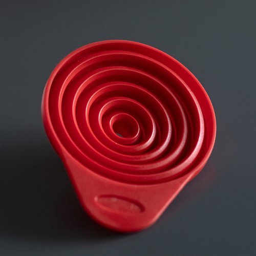 Collapsible silicone funnel TORNADO  - 4