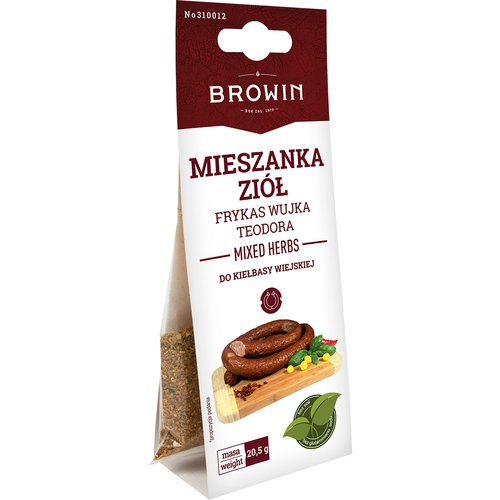 Meat Seasoning - Uncle's Theo spices for Wiejska sausage 20,5g