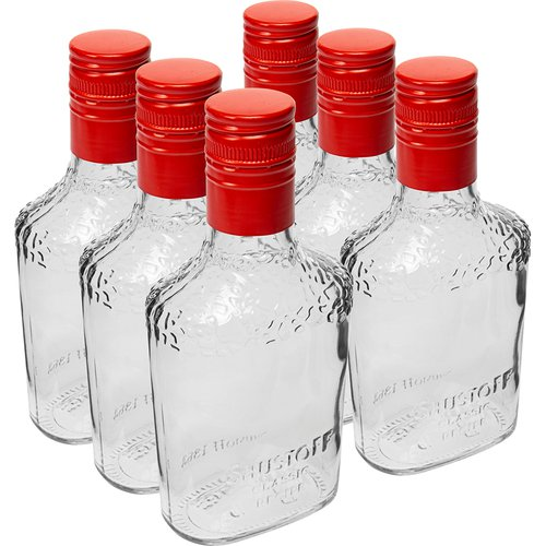 Safari bottle 250 ml with a screw cap, 6 pcs  - 1