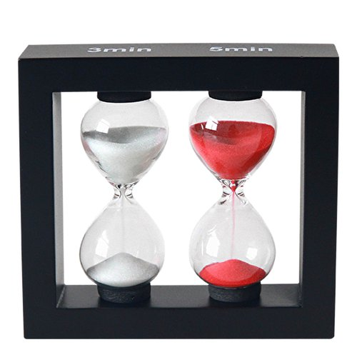 Sand timer / hourglass 3 and 5 min  - 1