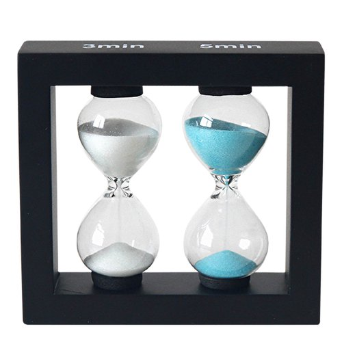 Sand timer / hourglass 3 and 5 min - 3
