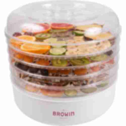 13,5l Food dehydrator , 5 trays , white colour