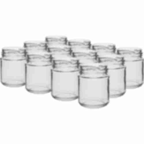 212ml twist off glass jar Ø66 - 12 pcs.