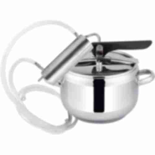 2in1 distiller & pressure cooker 7l , condenser