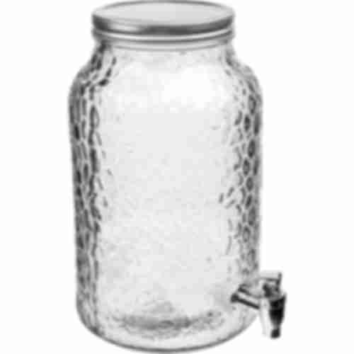 4l Lemonade glass jar / beverage dispenser
