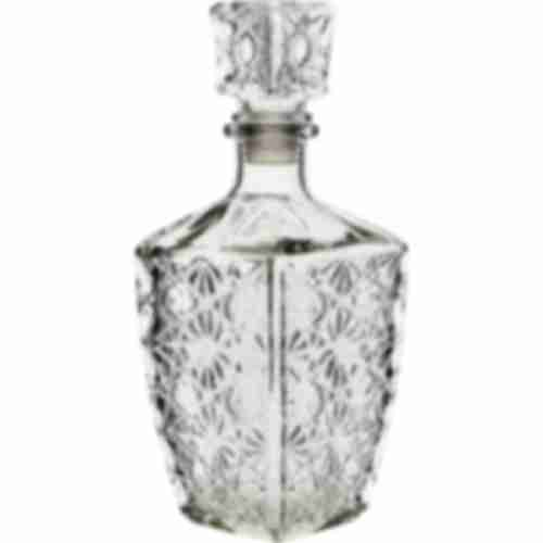 750ml decanter with decorative stars