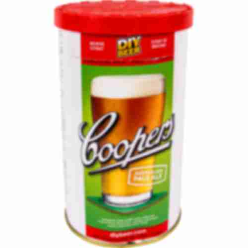 Australian Pale Ale Coopers beer concentrate 1,7kg for 23l of beer