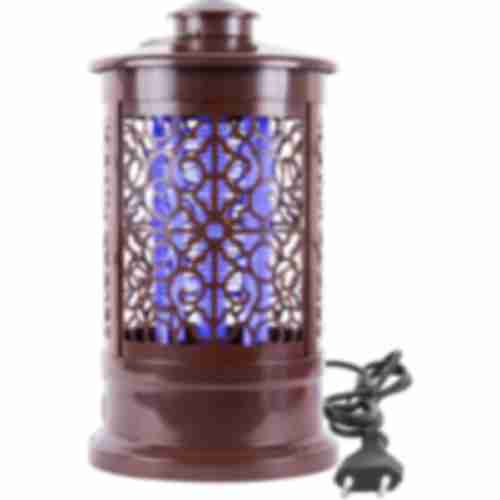 Bug zapper / insect trap lamp, 3W, 24cm, brown colour