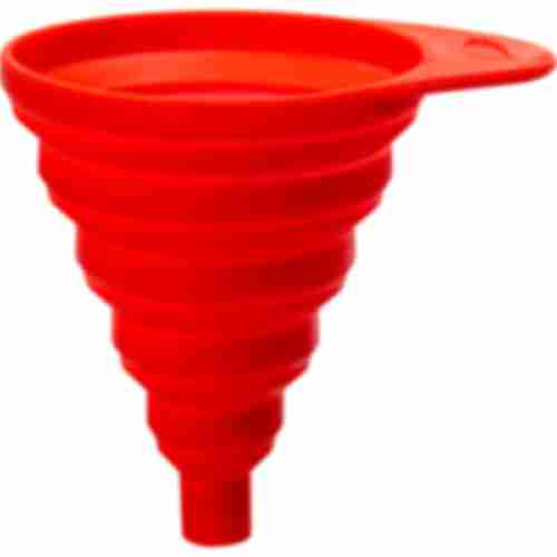 Collapsible silicone funnel TORNADO