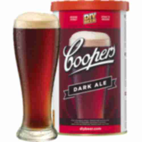 Dark Ale Coopers beer concentrate 1,7kg for 23l of beer