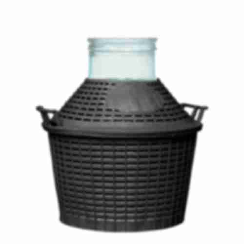 Demijohn with plastic basket 15 L
