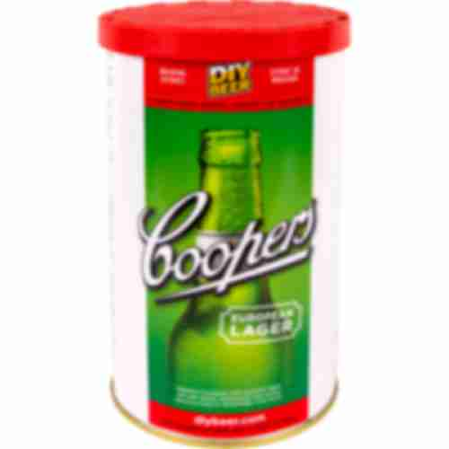 European Lager Coopers beer concentrate 1,7kg for 23l of beer