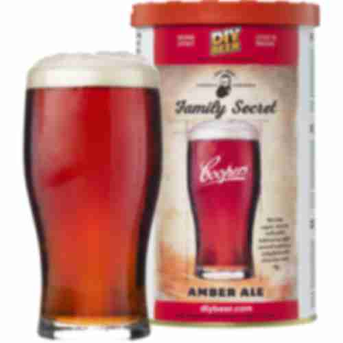 Family Seret Amber Ale Coopers beer concentrate 1,7kg for 23l of beer
