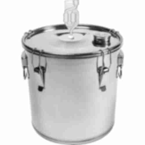 Fermentation container - stainless steel, 30l