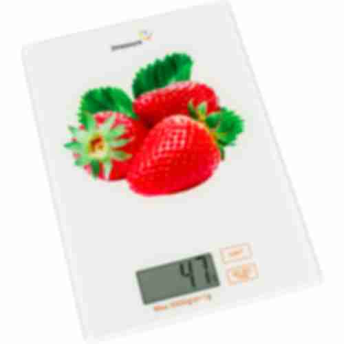 Kitchen scales Strawberry - electronic