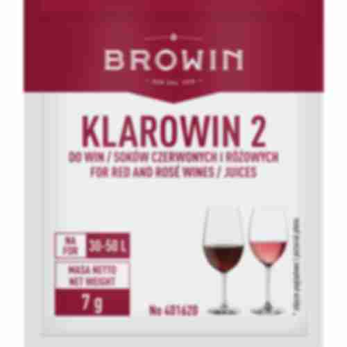 Klarowin 2 fining agent for red wines 7g