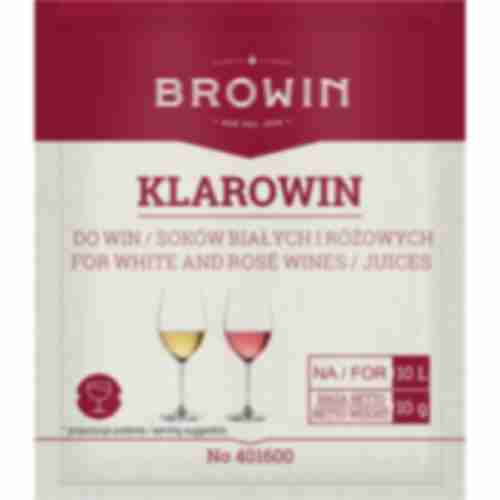 Klarowin fining agent for white and rose wines 10g