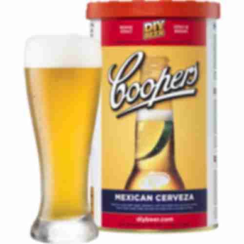 Mexican Cerveza Coopers beer concentrate 1,7kg for 23l of beer