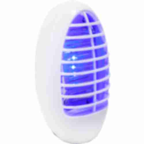 Plug-in mosquito killer / bug zapper with brush , 1,5W , 12cm , white colour