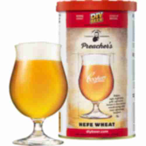 Preacher's Hefe Wheat Coopers beer concentrate 1,7kg for 23l of beer
