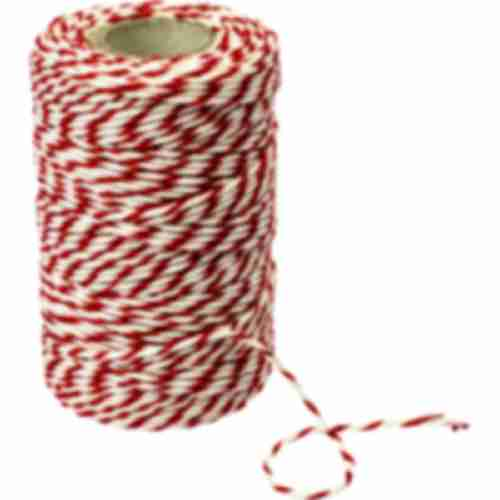 Red-hite cotton twine/string for meat tying (240°C) 55 m