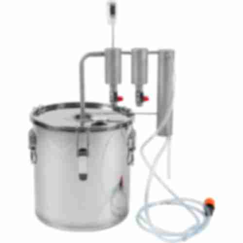 Stainless steel 18l distiller , 2 settlers