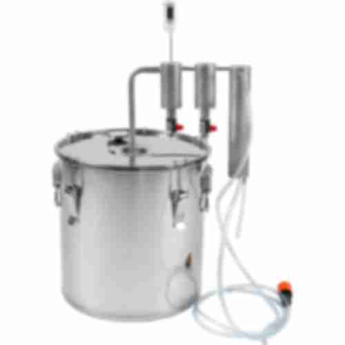 Stainless steel 30l distiller , 2 settlers