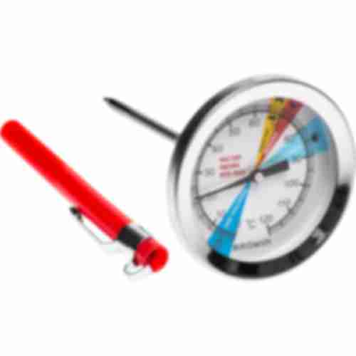 Thermometer for 0,8kg pressure ham cooker, 0-120°C
