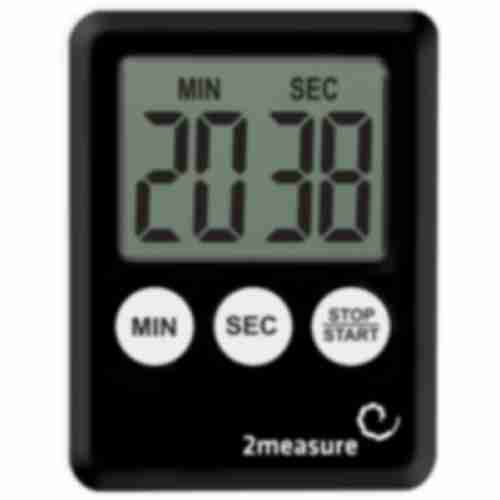 Timer , black colour