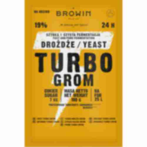 Turbo Browin 24h distiller's yeast 180g