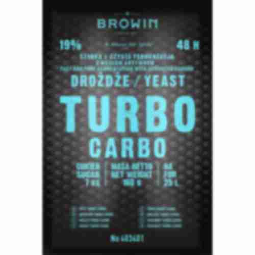 Turbo Carbo 48h yeast 160g