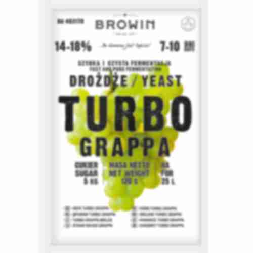 Turbo Grappa distiller's yeast 120g