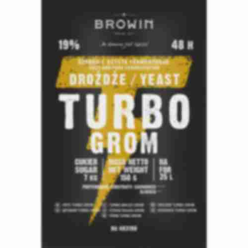 Turbo GROM 48h distiller's yeast 150g