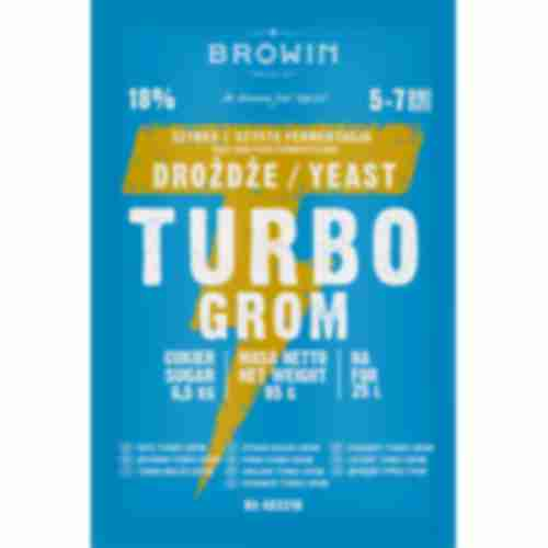 Turbo GROM 5-7 days distiller's yeast 85g