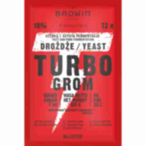 Turbo GROM 72h distiller's yeast 120g