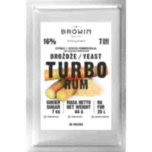 Turbo Rum yeast