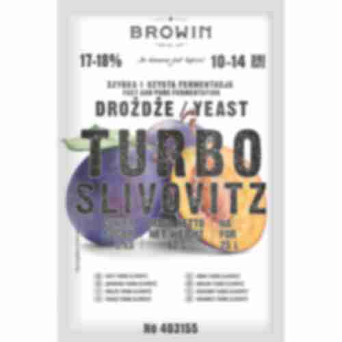 TURBO slivovitz yeast