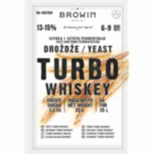 Turbo Whiskey distiller's yeast 23g