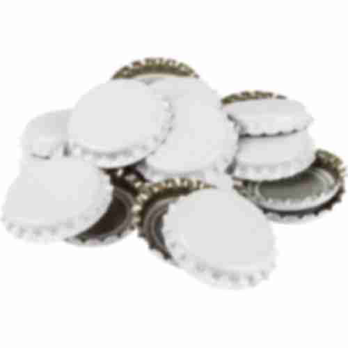 White bottle cap fi 26 - 1000pcs.