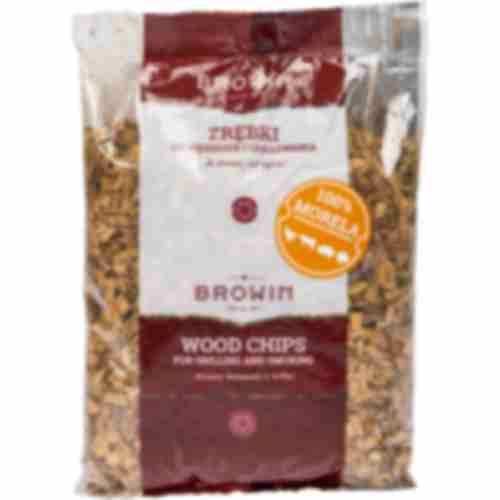 Wood chips 100% apricot  - 450g KL08, AVERAGE